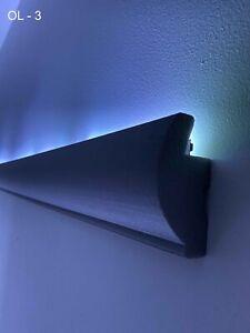 30 Metros LED Banda Perfil Moldura de Estuco Para Iluminación Indirecta XPS OL-3