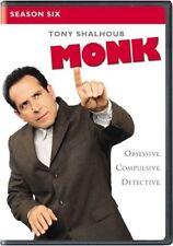 Monk: Season 6 New DVD! Ships Fast!