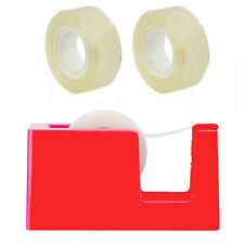 Home Office Tape Dispenser Cellotape Sellotape Roll Rolls Packing Clear Cutter