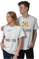 Relationship Boyfriend Girlfriend Matching Adult Short Sleeve Crewneck Tee