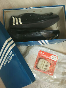 NOS original Eddy Merckx Adidas cycling shoes - made in France