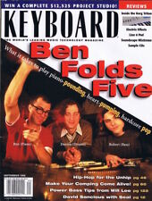 Inside KORG Triton ProX, Edit Vocal Tracks BEN FOLDS FIVE 1999 Keyboard Magazine