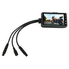 Motorcycle Camera With Special Dual Track Front Rear Recorder Motorbike Dash Cam