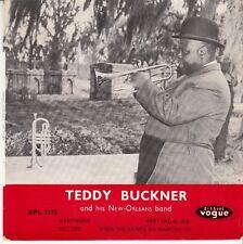 45 T EP TEDDY BUCKNER *WHEN THE SAINTS GO MARCHIN 'IN*