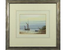 Alan Whitehead, original watercolour signed - 'River Estuary'. Marine Artist