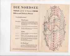 Die Nordsee - Consolfunkfeuerkarte 1 : 000 Seehydrographischer Dienst der DDR