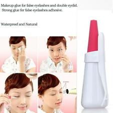 Waterproof Strong Clear Fake Eyelash Glue Best Strip Eyeslids Adhesive 12ml SA White