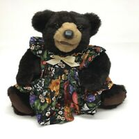 Beaver Valley Molly Stuffed Brown Bear Zoe's Friends 1996 Jointed 257/500