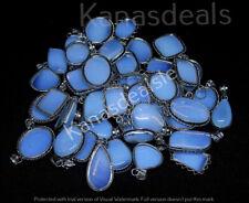 Opalite Pendant Wholesale Lots 1pcs 925 Sterling silver Plated Pendant