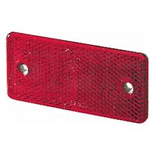 Rear Reflector: Rectangular Red Screw Fix | HELLA 8RA 003 326-001