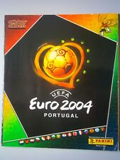 Complete Panini EURO 2004 Portugal Loose Stickers Set And Empty Football Album