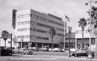 1940s Hollywood California Columbia Broadcasting Autos RPPC real photo 4784