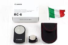 Telecomando remote Canon RC-6 RC 6 EF 70D 6D 760D 600D 7D 5D 1000D MARK RC-1