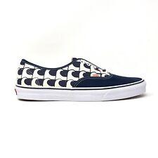 Vans Authentic US Open Navy Blue Waves Men's 12 Skate Shoes New