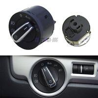 Chrome Auto Headlight Switch For VW GOLF Jetta Tiguan Touran Caddy AUS11