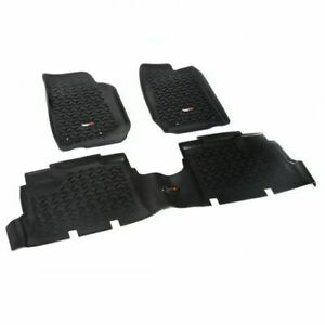Rugged Ridge 12987.04 All Terrain Floor Liner 3 pc. For 18 Jeep Wrangler JK NEW