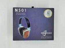 DJ Headphones VeriSonix Hybrid ElectroStatic Cherry Wood 6-50,000Hz N501