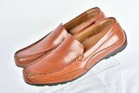 "Mens Deer Stags 902 Collection Drive ""Dress"" Loafers in Brown Leather Size 11M"