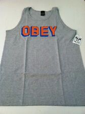 New OBEY Graphic Tank Top T-Shirt Skate Surf Street Size Medium Retail $34