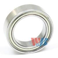 10x Miniature Micro Thin Shield Motor Flanged Ball Bearings F6700-ZZ 10x15x4mm