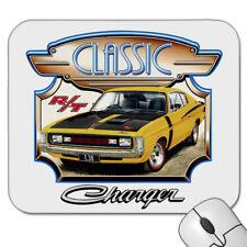 VALIANT  VH  E38  R/T  CHARGER     MOUSE PAD   ( 7 CAR  COLOURS )