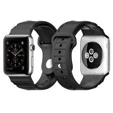 SALE Spigen Apple Watch Strap 42mm TPU Rugged Band - Black