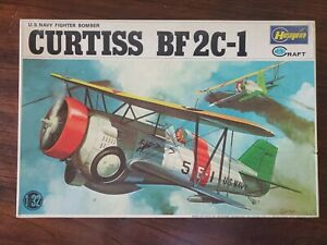 Hasegawa Mini Craft 1/32 Curtiss BF 2C-1 US Navy Fighter Bomber Plasti Model Kit