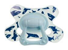 BNIB *Difrax* Toddler Autism SHARKS Solid soother dummy pacifier DENTAL 18m+