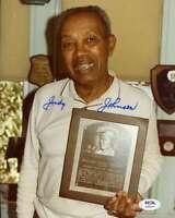 Judy Johnson PSA DNA Coa Hand Signed 8x10 Photo Autograph