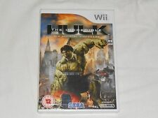 NEW UK PAL FORMAT (READ) The Incredible Hulk Nintendo Wii Game SEALED incredable