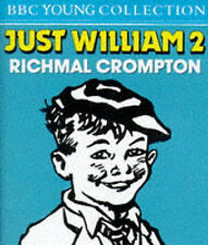 RICHMAL CROMPTON= JUST WILLIAM 2 = 2 CASSETTE AUDIO BOOK =FREE POST