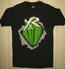 YOUNG & RECKLESS Shirt M Y & R Ripper Logo Skate Swag Drama Beats OOP RARE HTF