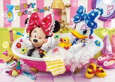 Disney Minnie & Daisy Happy Bath Time! 3D Lenticular Greeting Card / 3D Postcard