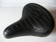 "KIDS BEACH CRUISER BIKE SEAT BLACK FOR 12""/16""/20"" BIKES BMX LOWRIDER MTB NEW"