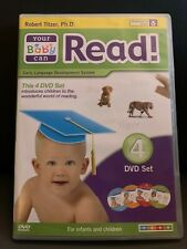 Your Baby Can Read! 4 DVD Set Used