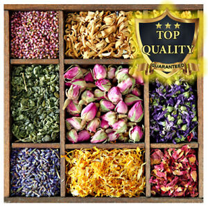 Dried Flowers Dry Petals - 56 Types! Confetti, Tea  (Offer 4 for 3 and Free P&P)