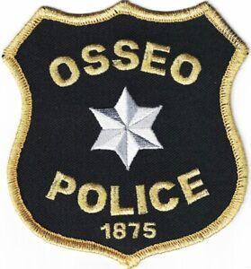 Osseo Police Patch Minnesota MN
