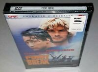 Point Break Enhanced Widescreen Edition (RARE OOP 2000 DVD, Factory Sealed)