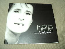 "CD DIGIPACK ""MARIE-PAULE BELLE chante BARBARA"""