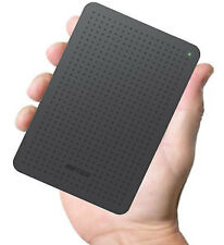 Brand NEW Buffalo MiniStation 2 TB external Portable Hard Drive HD-PCFU3