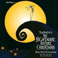 Tim Burton's The Nightmare Before Christmas [Original Motion Picture Soundtrack] by Danny Elfman (CD, Sep-2006, Walt Disney)