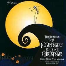 Tim Burton's The Nightmare Before Christmas [Original Motion Picture Soundtrack] by Danny Elfman (CD, Sep-2006, Walt Disney)