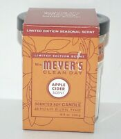 MRS. MEYER'S CLEAN DAY LIMITED EDITION APPLE CIDER SCENT SCENTED SOY CANDLE