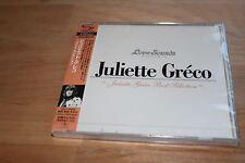 JULIETTE GRECO-JULIETTE GRECO BEST SELECTION-JAPAN SHM-CD E00
