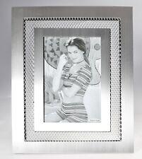 LAR Cadre Photo de table aluminium satiné 10x15cm