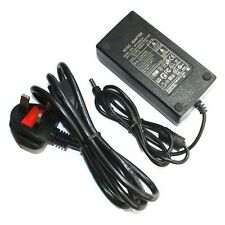 12V 5A UK Plug Power Supply Adapter Charger For 3528 5050 LED Strip CCTV Cameras