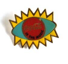 Coca Cola Coke EE.UU. Solapa Pin Botón Divisa Pin de solapa - Auge Sol Música