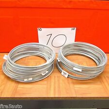 10 Rolls Of  3/16 X 25FT  STEEL ZINC BRAKE LINE TUBING