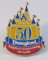 DISNEYLAND 50TH  ANNIVERSARY - HAPPIEST HOMECOMING ON EARTH PIN