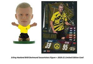 Erling Haaland Borussia Dortmund SoccerStarz Figure + Limited Edition Card Combo